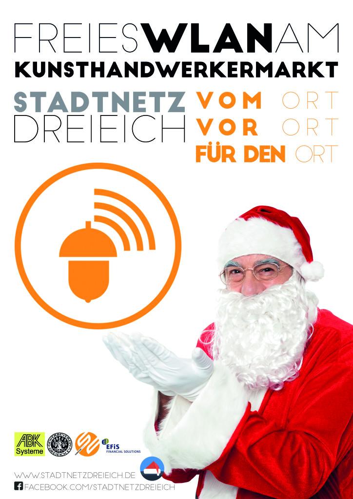 Stadtnetz Dreieich Startschuss auf dem Hayner Weihnachtsmarkt www.hayner-weihnacht.de www.stadtnetzdreieich.de